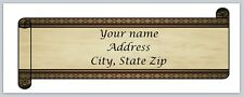 Personalized address labels Scroll Buy 3 get 1 free (xco 883)
