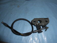 1995 Triumph Daytona 900 Seat Latch With Cable