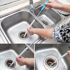 Rohrreinigungs Rohr Abflußspirale-Abflussrohr Küche Drain Reinigungsbürste Neu·