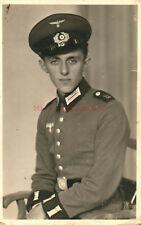 Foto, Wk2, Soldat mit Schulternummer 12 im Portrait (N)20794
