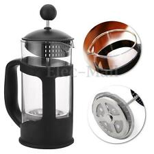350ML FRENCH GLASS CAFETIERE COFFEE TEA FILTER MAKER COFFEE PRESS PLUNGER POT