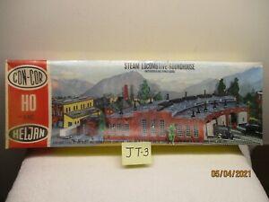 JT-3 Heljan/Con-Cor HO Kit B802 Steam Locomotive Roundhouse