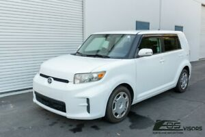 For 08-15 Scion xB JDM MUGEN Tape-On Style Side Vents Window Visors Rain Guards