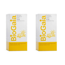 2x BioGaia ProTectic Probiotic Drops for Baby Colic 5ml (2 Pack - 10ml)