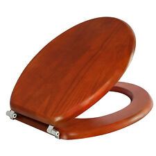 Estilo Toilet Seat Colonial Oak/adds style with comfort/easy to install