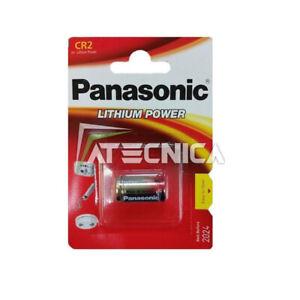 Cell Battery Lithium Panasonic CR2 3V Cr 2 DLCR2 KCR2 CR17355