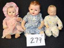 3 Vintage Metal/Compo/ Plastic Dolls. 1) Effanbee Dy-dee-babee with p... Lot 279