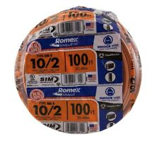 Southwire Building Wire 100 ft. 10/2 Solid Heat Resistant Jacketed Orange