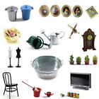 Dollhouse Miniature Bathroom Room Kitchen garden Table 1:12 Decoration Toy