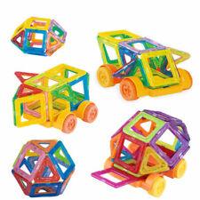 Niños Juguetes educativos 32 un. PUZZLE DE CONSTRUCCIÓN BLOQUES MAGNÉTICO CONSTRUCCIÓN me
