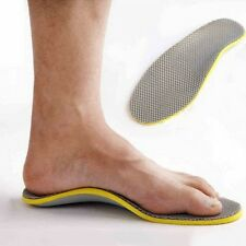 1Pair Orthotic Shoe Insoles Breathable Foot Arch Support Insert Sports Shoes Pad