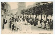 Mint - Morlaix, Brittany, France, Procession in honor of the Virgin, c1908