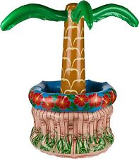 Getränkekühler Flaschenkühler aufblasbare Palme Party Feier Strand Grillen Deko