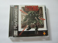 Epidemic Sony Playstation 1 PS1 Black Label COMPLETE w/ Stickers Very Good 1996
