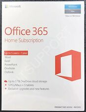 Microsoft Office 365 Home English Subscription 1 Year Product Key Upto 5 Users