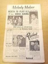 MELODY MAKER 1954 DECEMBER 4 TED HEATH ERIC DELANEY JAZZ BIG BAND SWING