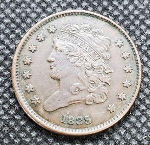 1835 Classic Head Half Cent | EXTRA FINE