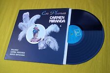 carmen MIRANDA Con Plumas Spanish LP ODEON (EX/M-) 1982  lp  ç