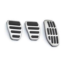 3pcs Metal Fuel Brake Foot Pedal Cover For Nissan Qashqai X-trail X Trail 14-18