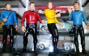 Star Trek 1/6 vinyl models (4) 1969 Tv series ( AMT)
