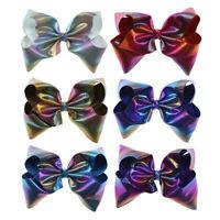 KE_ Large Ribbon Hair Princess Girls Bow Clip Big Bowknot Hairpin Bobby Pin Su
