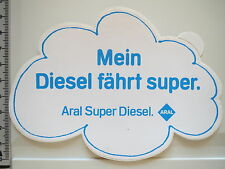 Aufkleber Sticker ARAL - Super Diesel - Decal - 80er - Autocollant (2236)