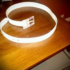 New silicone belt white color golf belt