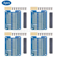 4PCS rototype Breakout DIY Prototype Hat Breadboard Kit used for Raspberry Pi