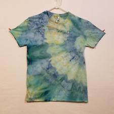 Ice Tie Dye T-Shirt - Gildan Softstyle - Handmade Psychadelic Hippie - Medium R1