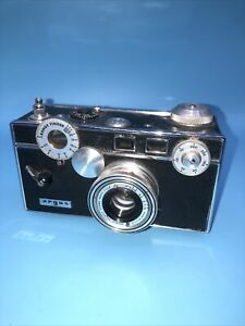 Vintage Argus Rangefinder 35mm Camera w Lens, Working (maybe) See Desc