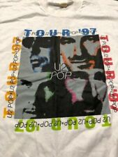 U2- Vintage 1997 Pop Tour Concert T- Shirt (X Large)
