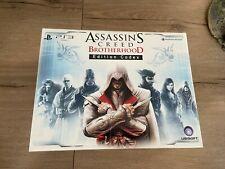 Assassin's creed brotherhood codex edition collector PS3