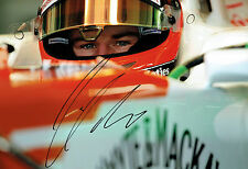 Nico HULKENBERG SIGNED Autograph Force India Driver F1 12x8 Photo AFTAL COA