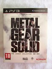 Metal Gear Solid the Legacy Collection PS3 PAL ES