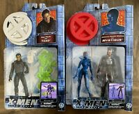 Toad & Mystique Vintage X-Men The Movie Figures Lot New Toybiz 2000 Marvel
