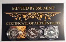 Certified Australian Silver Bullions