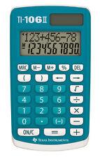 Texas Instruments Ti106 II 4 Function Calculator 106iifbl4e6