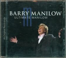 Barry Manilow - Ultimate Manilow All Original Recordings Cd Ottimo