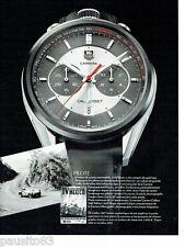 PUBLICITE ADVERTISING 116  2013  la montre Carrera cal 1887  Jack Heuer Mexico