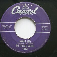 50'S & 60'S 45 The Vipers Skiffle Group - Maggie May / Cumberland Gap On Capitol