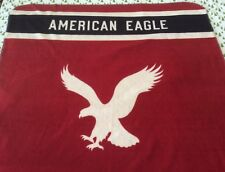 American Eagle Outfitters Logo Spellout Fleece Throw Blanket 58� x 48�