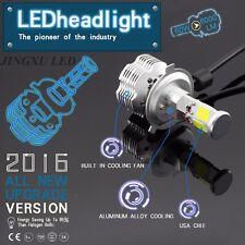 2x H4 9003 HB2 12000LM CREE LED Headlight Kit Hi/Lo Beam Headlamp Bulbs 6000K