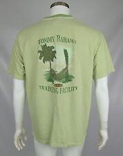 Tommy Bahama Sample Mens Shirt Light Green Training Relax Graphic Size Medium
