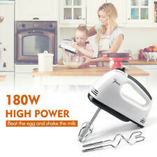 7 Gear Electric Egg Beater Automatic Hand Mixer Blender Rotating Push Whisk 220V