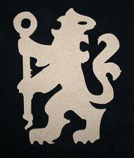 MDF Chelsea FC Lion unpainted wood craft shape plaque blank embellishment