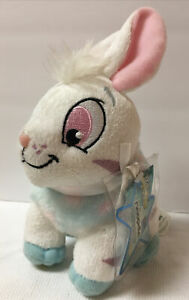 New NEOPETS - 2008 Striped CYBUNNY Bunny Rabbit Jakks Plush Animal Tag Code EA