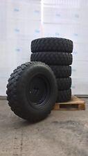 Reifen 275/80R20 (10,5R20) Michelin XZL 128K 8PR mit Felge 9x20 ET0 Schlauchlos