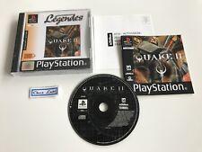 Quake II 2 - Sony PlayStation PS1 - PAL FR - Avec Notice