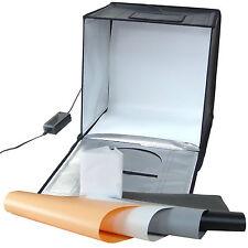 Caja de luz Cubo portatil fotografía profesional DynaSun LED440 40cm Softbox