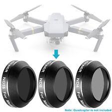 Neewer 3pcs Optical Filter Kit ND4 ND8 ND16 for DJI Mavic Pro Drone Quadcopter